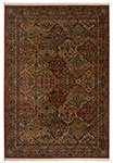 Original  Multi Color Panel Kirman 700/717 Karastan Area Rug
