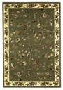 Cambridge Floral 7332 Sage/Ivory Floral Vine Area Rug by KAS