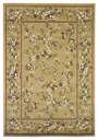 Cambridge Floral 7338 Beige Floral Delight Area Rug by KAS