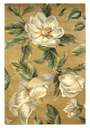 Catalina 762 Gold Magnolia Area Rug by KAS