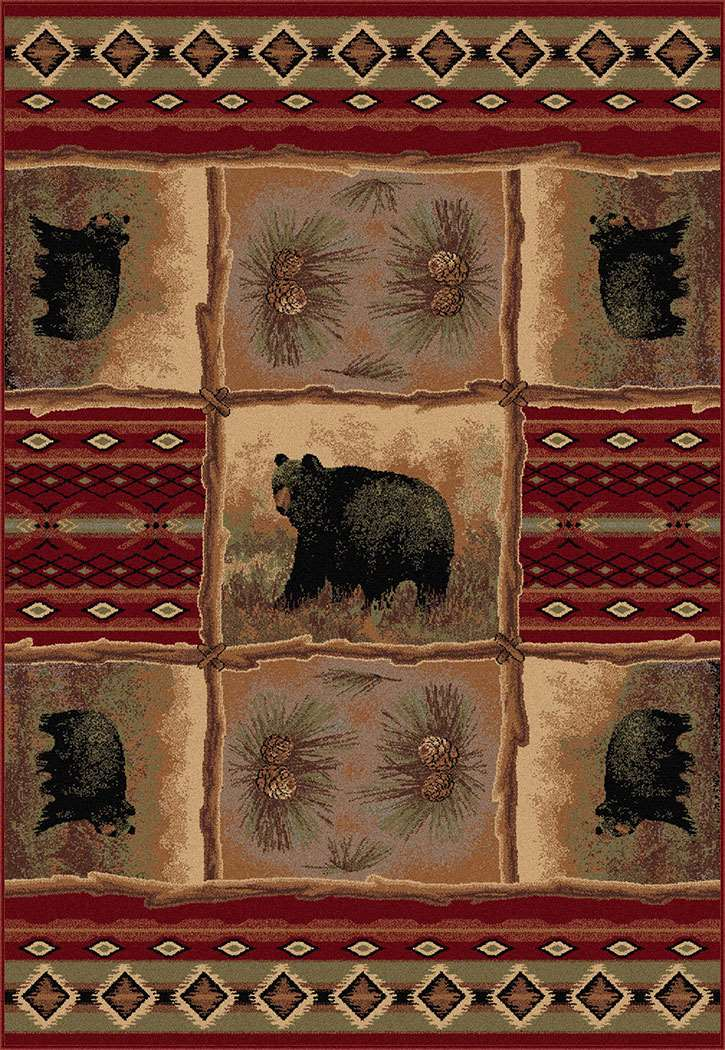 Americana 6570 Multi Area Rug Themed And Fun Rugs
