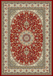 Ancient Garden 57119-1414 Red/Ivory (14 Red) Area Rug by Dynamic Rugs