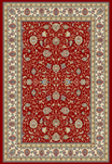 Ancient Garden 57120-1464 Red/Ivory (14 Red) Area Rug by Dynamic Rugs