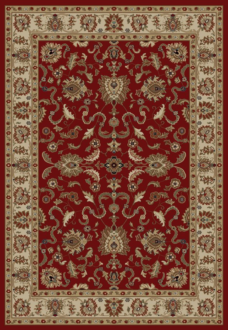 Concord Global Ankara 6510 Red Area Rug