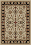 Ankara  6512 Ivory Area Rug by Concord Global Trading