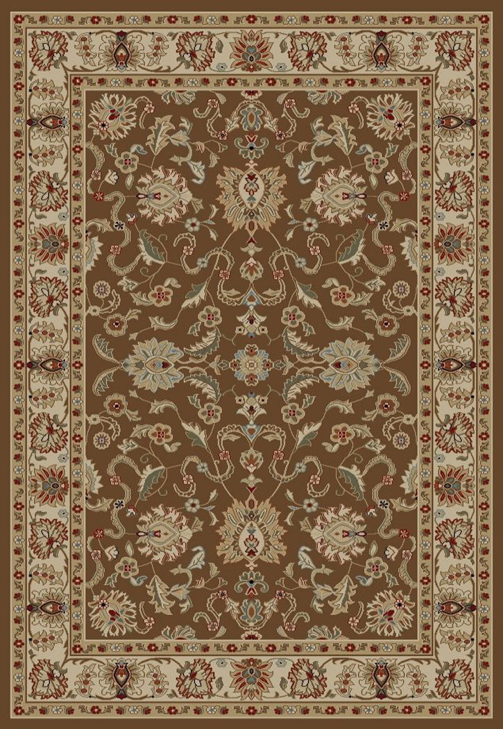 Concord Global Ankara 6518 Brown Area Rug