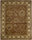 Jaipur JA13 Rust Area Rug by Nourison