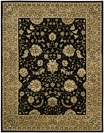 Nourison 2000 2214 Black Area Rug by Nourison
