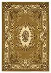 Corinthian 5309 Beige/Ivory Aubusson Area Rug by KAS