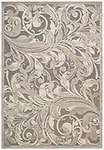 Nourison Graphic Illusions GIL01 Grey/Camel Area Rug