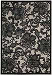Nourison Graphic Illusions GIL02 Pewter Area Rug