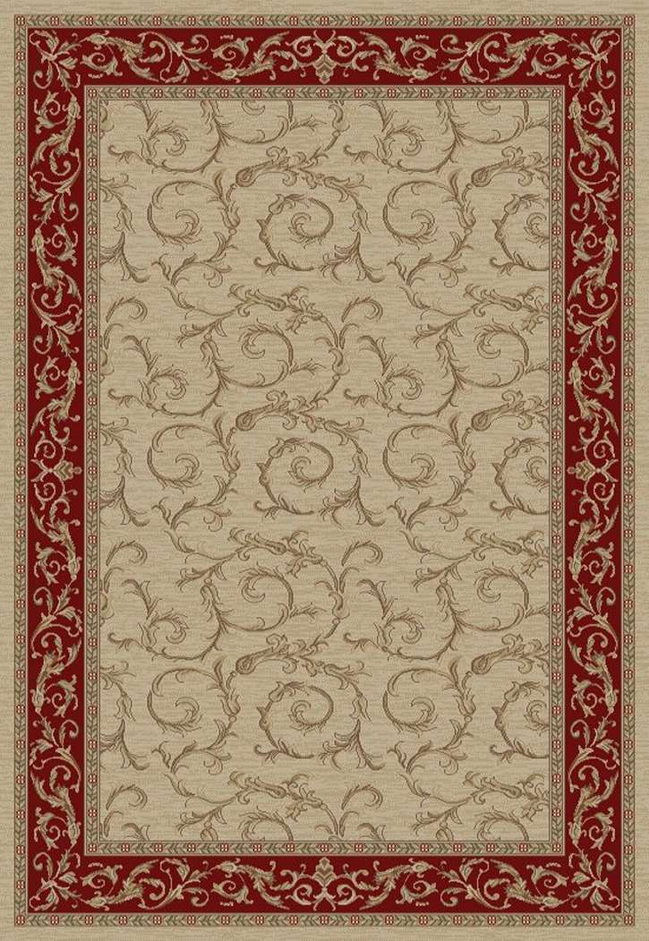 Jewel European 4392 Veronica Ivory Area Rug by Concord Global Trading