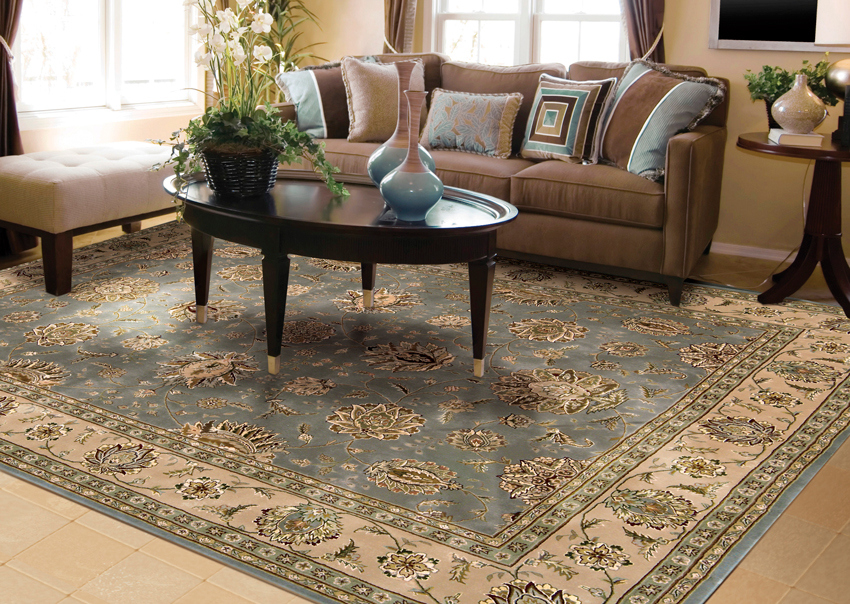 buying a new area rug