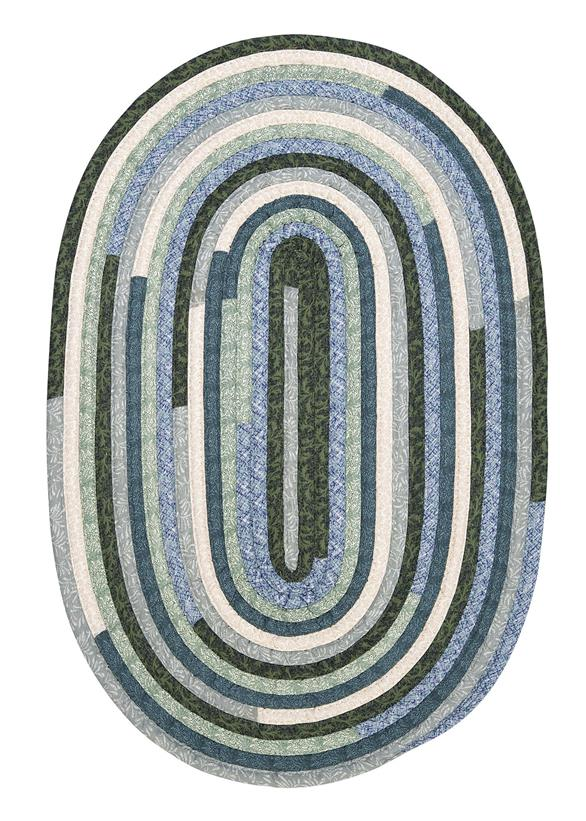 Colonial Mills Quilters Choice QC20 Seafoam Area Rug