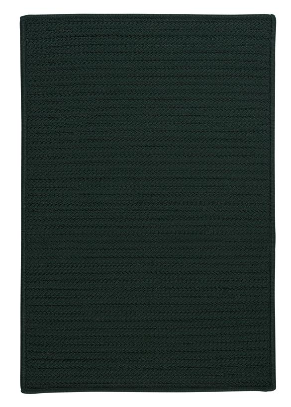 Colonial Mills Simply Home Solid H109 Dark Green Area Rug