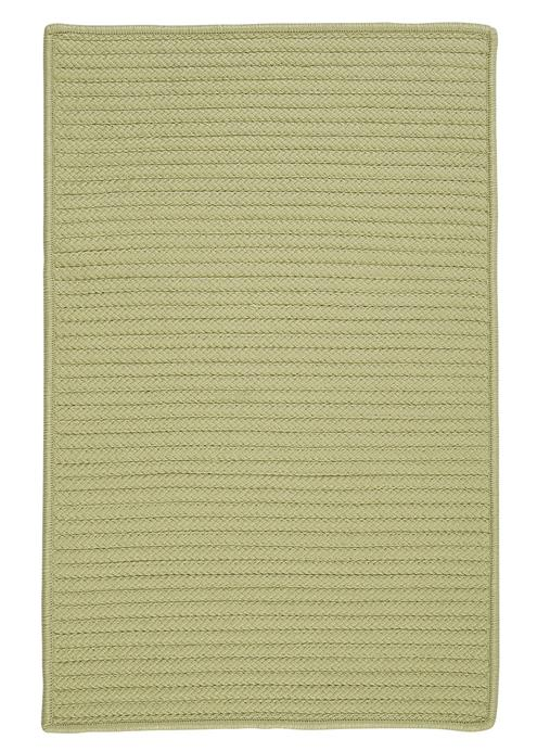 Colonial Mills Simply Home Solid H834 Celery Area Rug