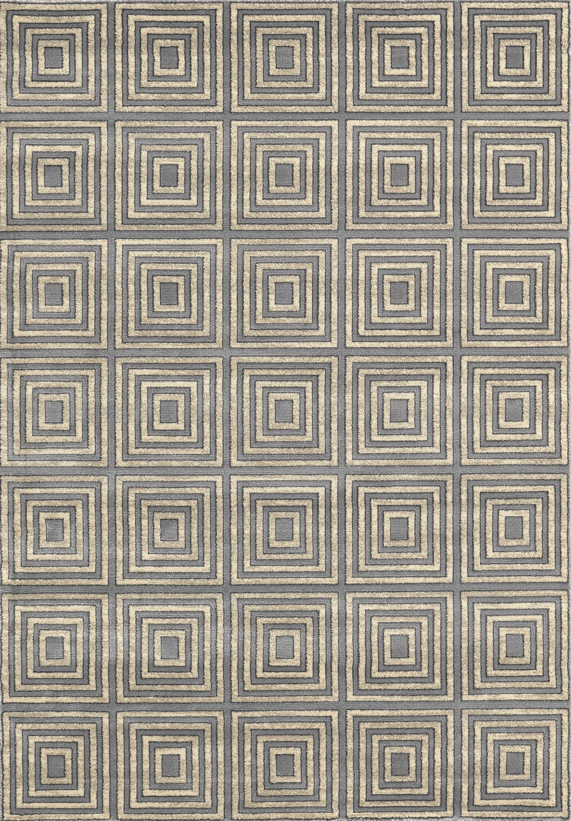 Lumina 9506 Keys Grey Area Rug By Concord Global Trading
