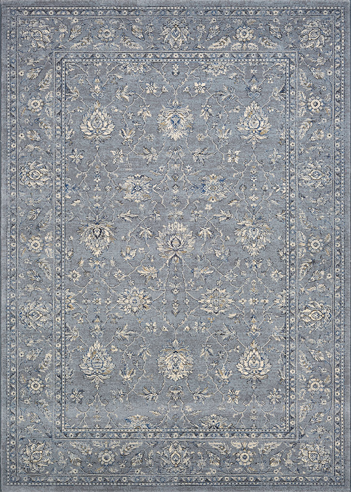 couristan sultan treasures all over mashadslate blue area rug - Couristan Rugs