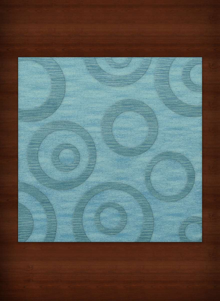Dalyn Dover Custom Dv5 Peacock Casual Area Rugs