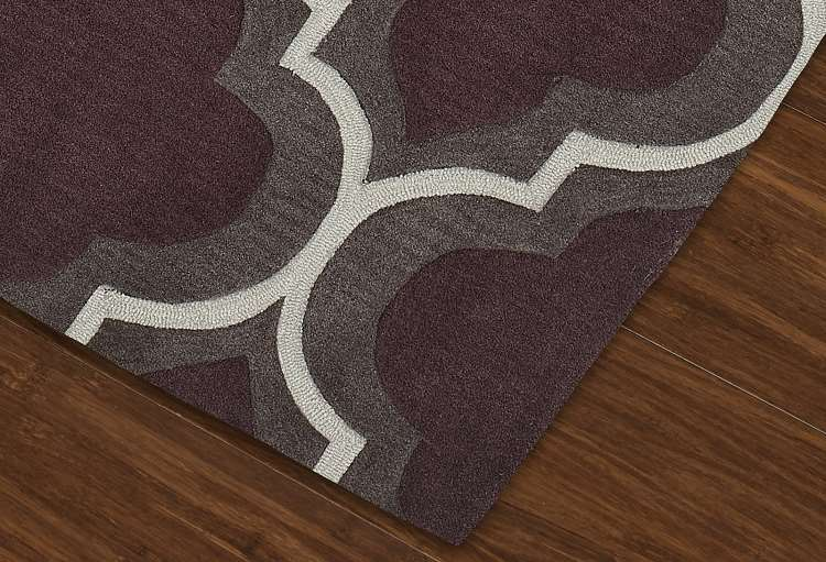 Dalyn Infinity If3 Plum Area Rug Transitional Rugs