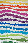 Kas Shelby 6305 Rainbow Soundwaves Area Rug