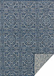 Emmie Kay KM-03 Navy Cream Area Rug - Magnolia Home by Joanna Gaines