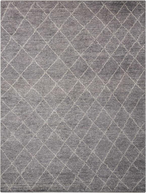 Calvin Klein Ck38 Heath Alpine Graphite Area Rug