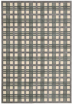 Nourison Graphic Illusions GIL20 Ivory/Taupe Area Rug