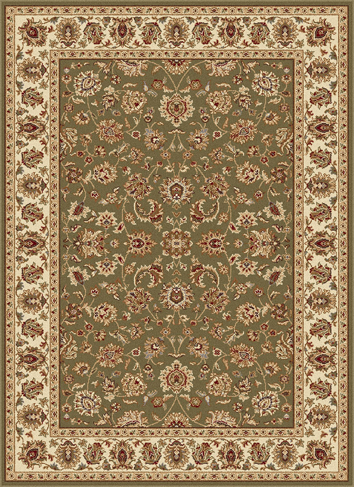Elegance 5375 Green Area Rug By Tayse