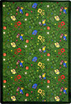 Playful Patterns Scribbles Green Area Rug by Joy Carpets