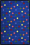 Playful Patterns Spot On Rainbow Area Rug by Joy Carpets