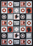 Kid Essentials - Teen Wired Red Area Rug by Joy Carpets