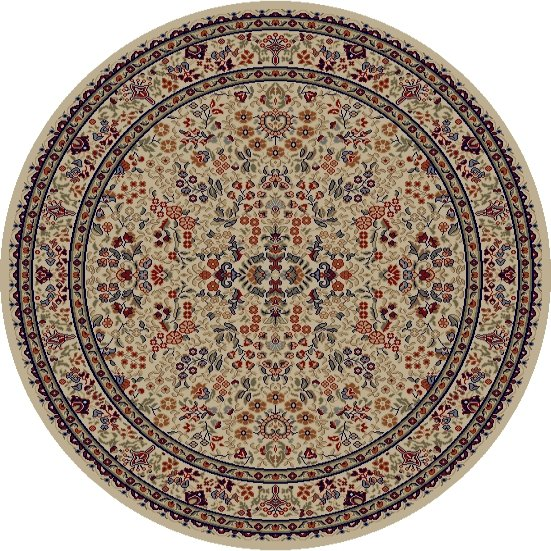 Mohawk Home Traditional Jewel Rug: Concord Global Jewel 4112 Ivory Area Rug