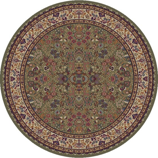 Mohawk Home Traditional Jewel Rug: Concord Global Jewel 4115 Green Area Rug