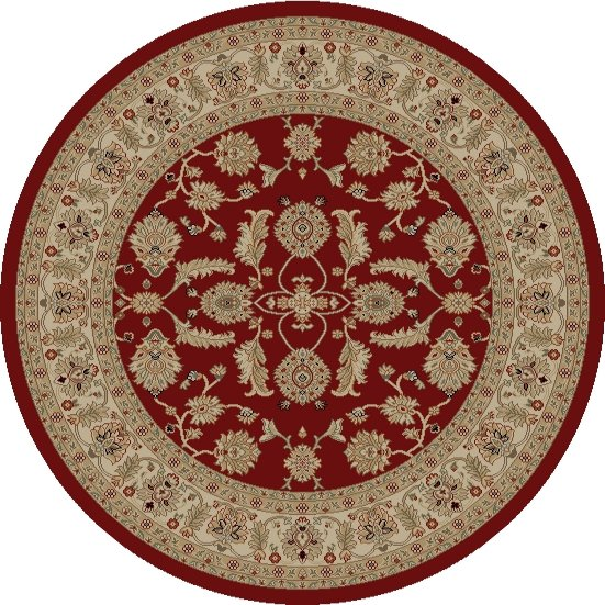 Mohawk Home Traditional Jewel Rug: Concord Global Jewel 4440 Red Area Rug