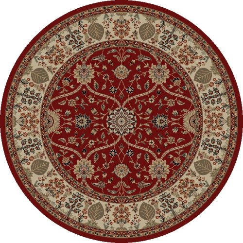 Mohawk Home Traditional Jewel Rug: Concord Global Jewel 4900 Red Area Rug