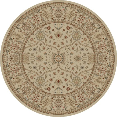 Mohawk Home Traditional Jewel Rug: Concord Global Jewel 4901 Ivory Area Rug