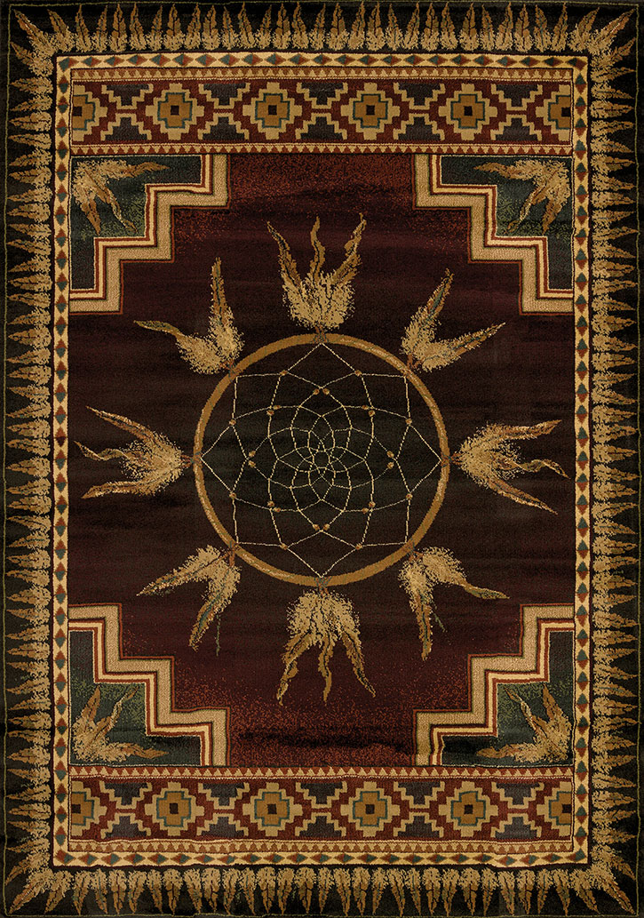 United Weavers Genesis Dream Catcher Lodge 530 52143 Area Rug