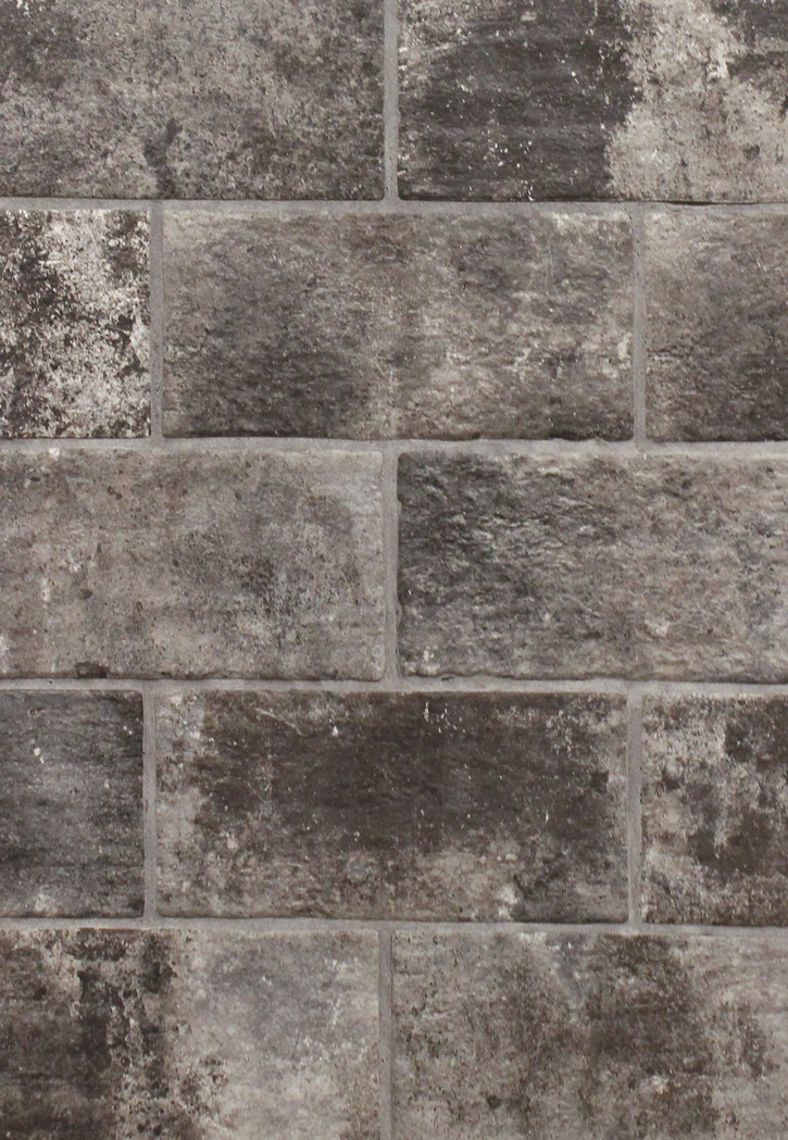 London Brick Charcoal 5 Quot X 10 Quot Porcelain Floor Tile