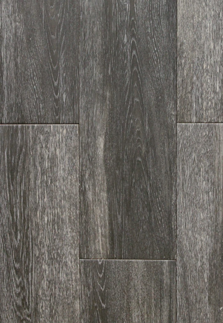 Niove antricite black faux wood 7 x 20 ceramic floor tile for Fake hardwood tile
