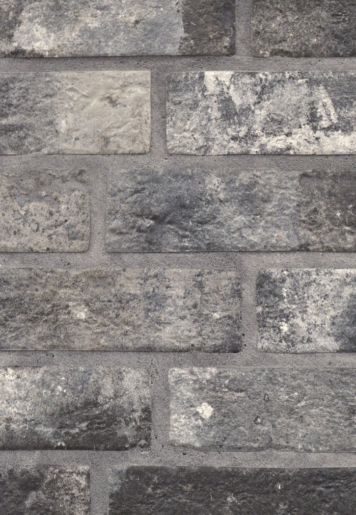 London Brick Charcoal 2 33 Quot X 10 Quot Porcelain Floor Or Wall