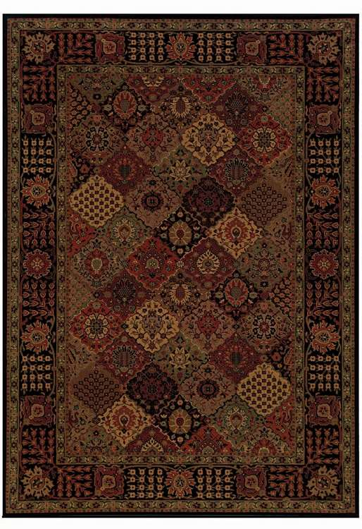 Everest 3721/4876 Antique Baktiari Midnight Area Rug by Couristan
