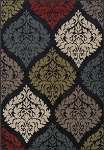 Marcello MO611 Black Area Rug by Dalyn