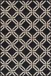 Marcello MO999 Black Area Rug by Dalyn