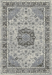 Dynamic Rugs Ancient Garden 57559-9656 Silver/Grey Area Rug