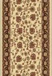 Dynamic Rugs Legacy 58020-160 Cream Brown 2'2