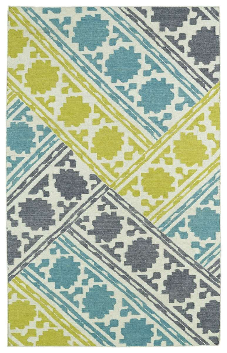 glam gla0278 turquoise area rug by kaleen - Turquoise Area Rug