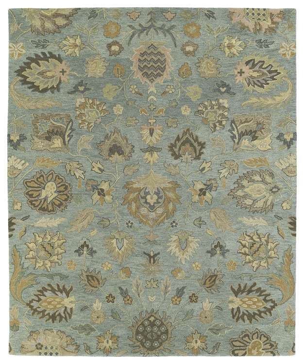 Kaleen Helena Turquoise Area Rug Reviews: Kaleen Rugs Helena 3203-56 Troy Spa Area Rug