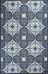 Kas Oriental Rugs Colonial 1822 Ivory/Blue Serendipity Area Rug