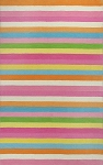 Kidding Around 434 Chic Stripes Area Rug by KAS